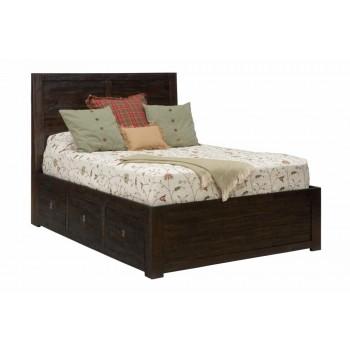 Kona Grove 4 Piece King Bedroom Set: Bed, Dresser, Mirror, Nightstand