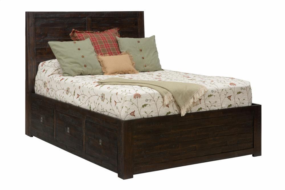 Kona grove 4 piece king bedroom set bed dresser mirror for Pruitts bedroom sets