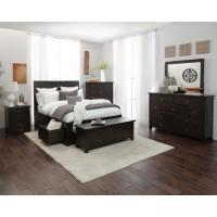 Kona Grove 4 Piece Queen Bedroom Set: Bed, Dresser, Mirror, Nightstand