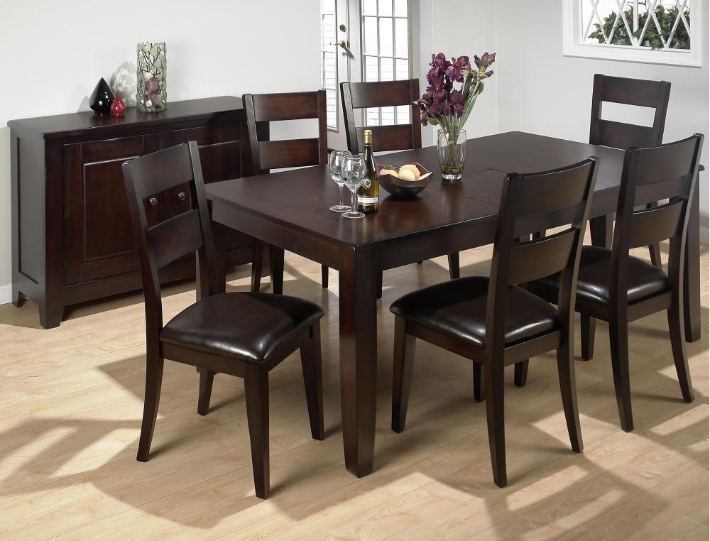 Genial Dark Rustic Prairie Rectangle Dining Table With Six Chairs | 7PC97277 |  Dining Room Groups | Plourde Furniture Company
