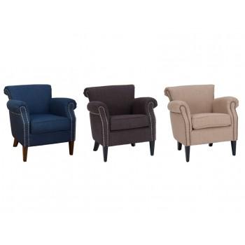 Emma Club Chair- Wheat