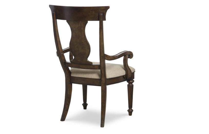 Barrington Farm Splat Back Arm Chair