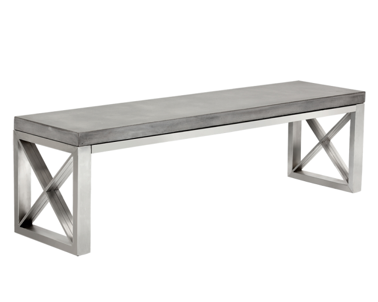 Catalan Bench - Grey