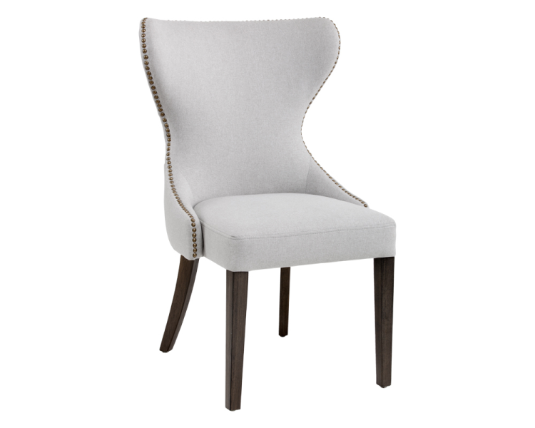 Minimalist Ariana Dining Chair Grey New - Style Of modern grey chair Modern