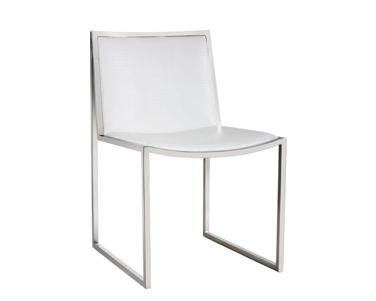 Blair Dining Chair - White
