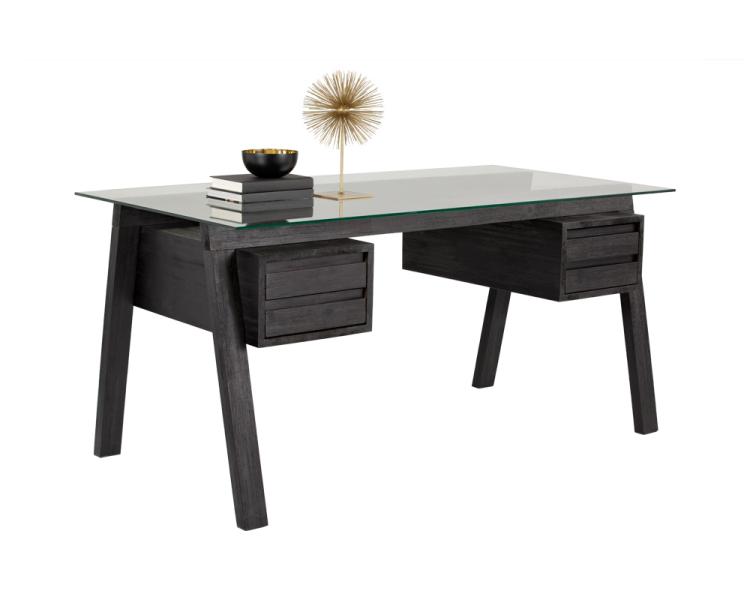 Fenton Desk - Brown