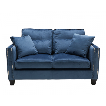 Cathedral Loveseat - Blue