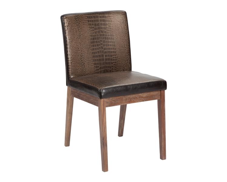 Branson Dining Chair - Crocodile