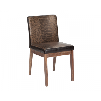 Branson Dining Chair - Crocodile