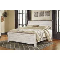 Willowton King/California King Panel Footboard