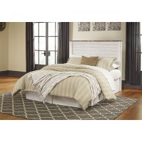 Willowton - Whitewash - Queen/Full Panel Headboard