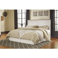 Willowton - Whitewash - King/Cal King Panel Headboard