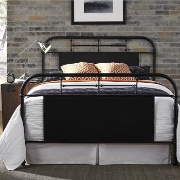 Antique Black Metal Bed