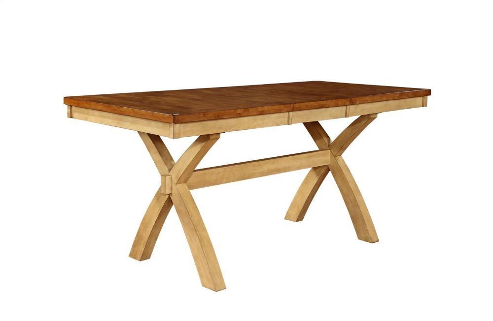 TENNESSEE ENTERPRISES Quinton X Leg Gathering Table W/1 18
