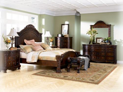 North Shore Panel Bed Bedroom Group