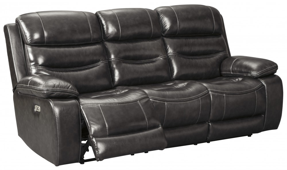 Pillement - Metal - PWR REC Sofa with ADJ Headrest