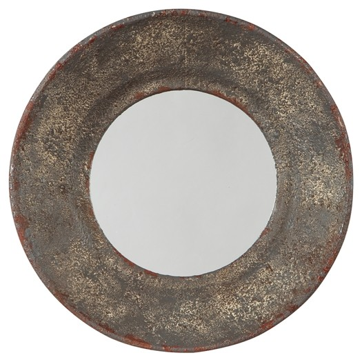 Carine - Gray - Accent Mirror