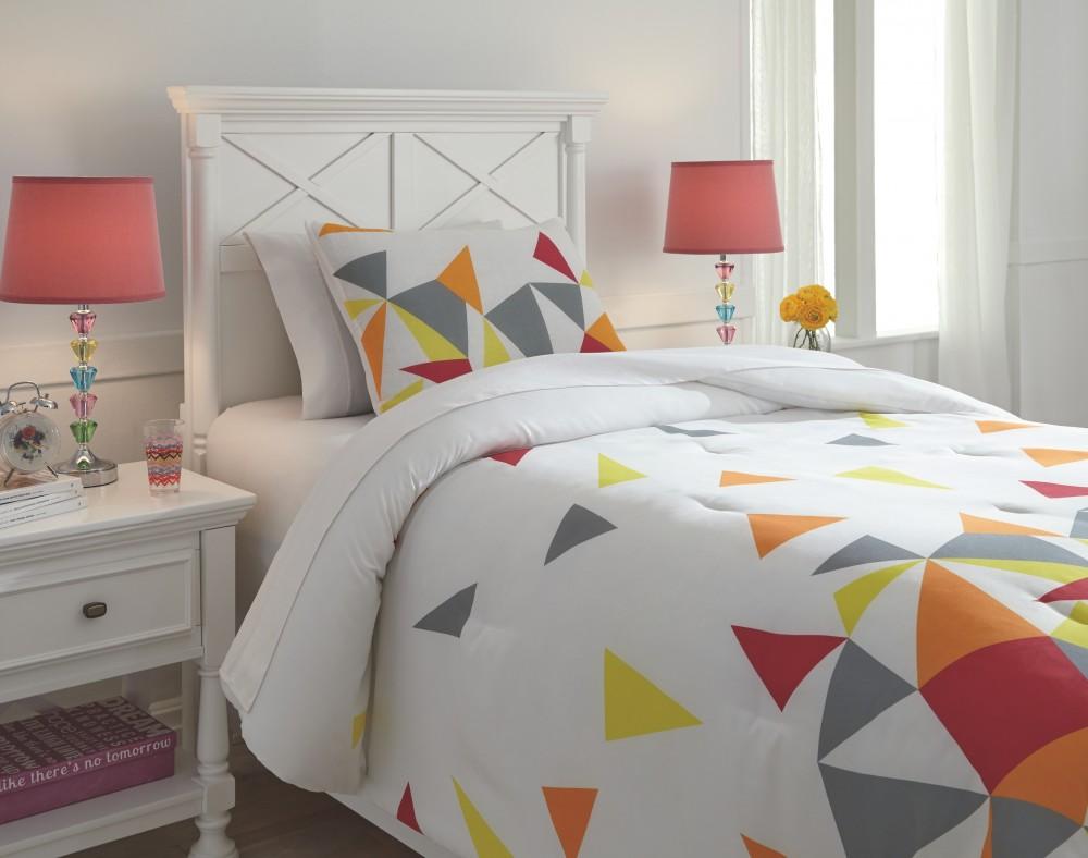 Maxie - Multi - Twin Comforter Set