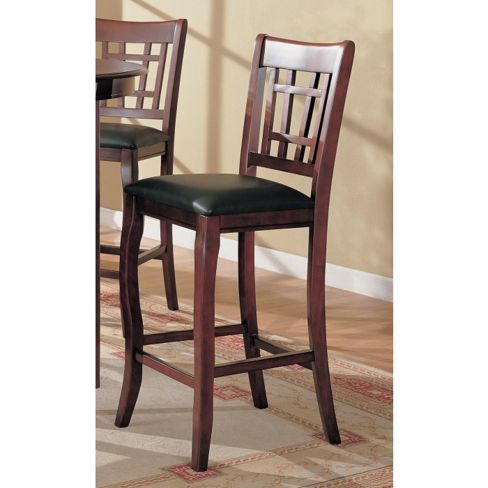 Incredible Dark Cherry Counter Height Chair 100510 Gmtry Best Dining Table And Chair Ideas Images Gmtryco