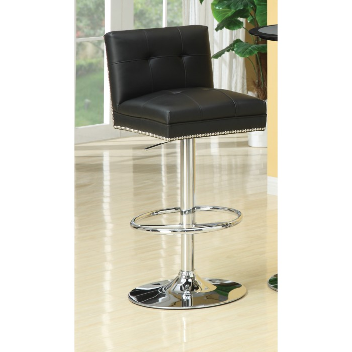 Astonishing Black 29 Inch Adjustable Base Bar Stool 102552 Gamerscity Chair Design For Home Gamerscityorg