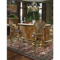AICO Furniture Cortina Bar w/Marble Top