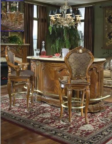 Aico Furniture Cortina Barstools 65504 Bar Stools