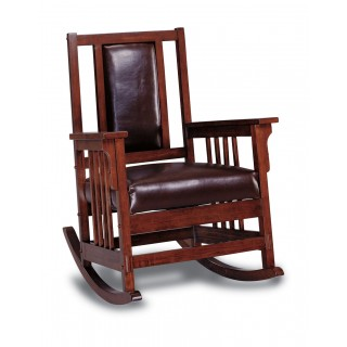 Mission Style Wood Rocker