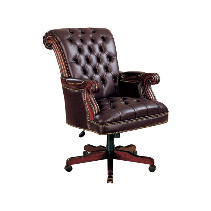 Outstanding Burgundy Executive Office Chair Theyellowbook Wood Chair Design Ideas Theyellowbookinfo