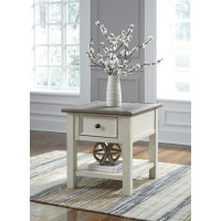 Bolanburg - Two-tone - Rectangular End Table