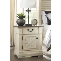 Bolanburg - Antique White - One Drawer Night Stand