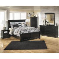 Maribel 5 Pc. Bedroom - Dresser, Mirror, Queen Panel Bed