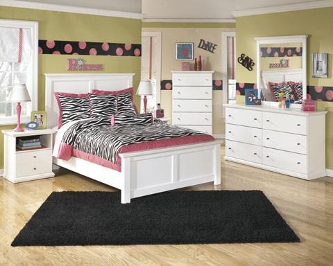 Bostwick Shoals Dresser, Mirror & Full Panel Bed