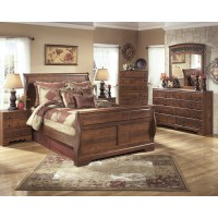 Timberline 5 Pc. Bedroom - Dresser, Mirror & Queen Sleigh Bed