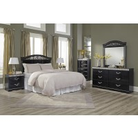 Constellations 4 Pc. Bedroom - Dresser, Mirror, Chest, Queen/Full Panel Headboard