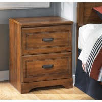 Barchan - Two Drawer Night Stand