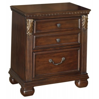 Leahlyn - Two Drawer Night Stand
