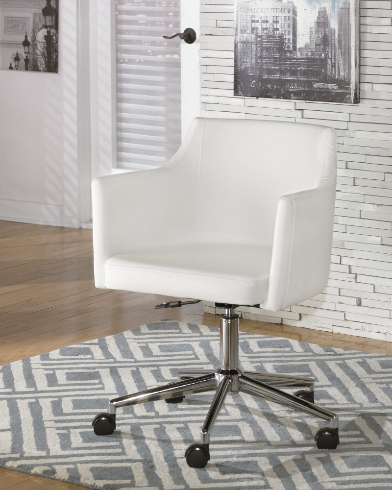 Baraga - Home Office Swivel Desk Chair