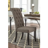 Tripton - Medium Brown - Dining UPH Side Chair (2/CN)