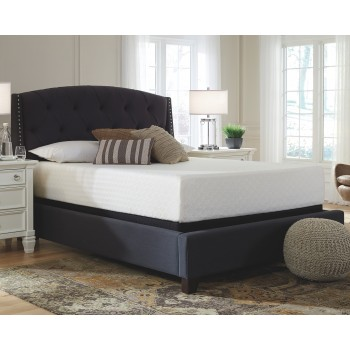 twin mattress. Chime 12 Inch Foam Mattress - White Twin | M72711 Memory  Mattresses Traver\u0027s Furniture And Carpet Twin Mattress