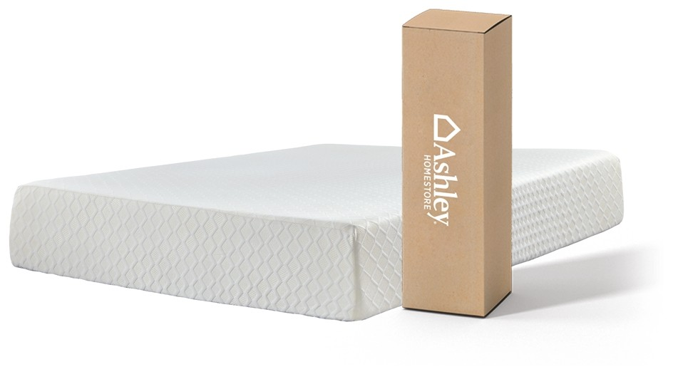 Chime 12 Inch Foam Mattress - White - Twin Mattress