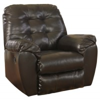 Alliston DuraBlend - Chocolate - Rocker Recliner