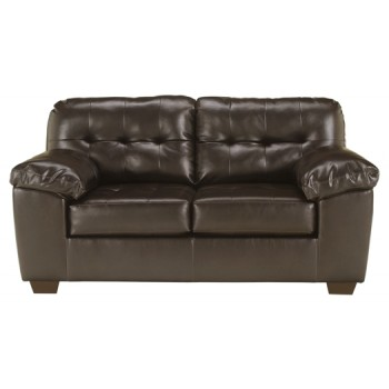 Alliston - Chocolate - Loveseat