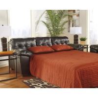 Alliston DuraBlend - Chocolate - Queen Sofa Sleeper