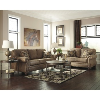 Larkinhurst - Earth - Sofa & Loveseat