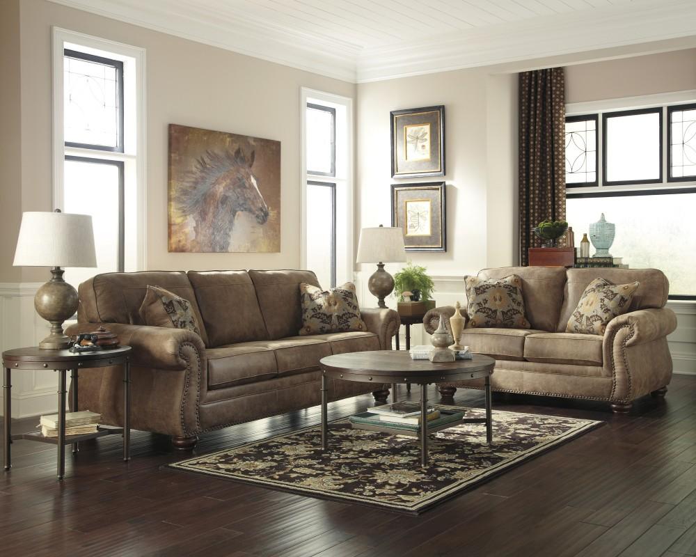 Awe Inspiring Larkinhurst Earth Sofa Loveseat Dailytribune Chair Design For Home Dailytribuneorg