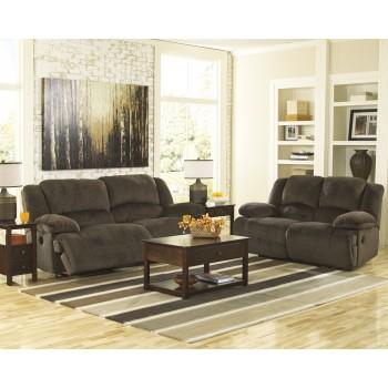 Toletta - Chocolate - 2 Seat Reclining Sofa & Reclining Loveseat