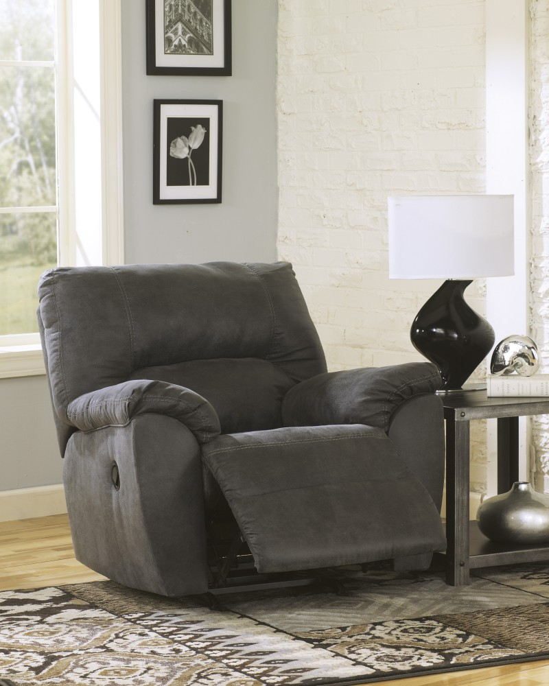 Tambo - Pewter - Rocker Recliner