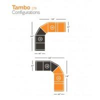 Tambo Right-Arm Facing Reclining Loveseat