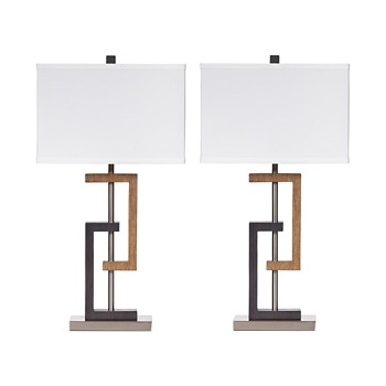 Syler - Poly Table Lamp (Set of 2)
