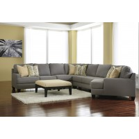 Chamberly - Alloy - Loveseat